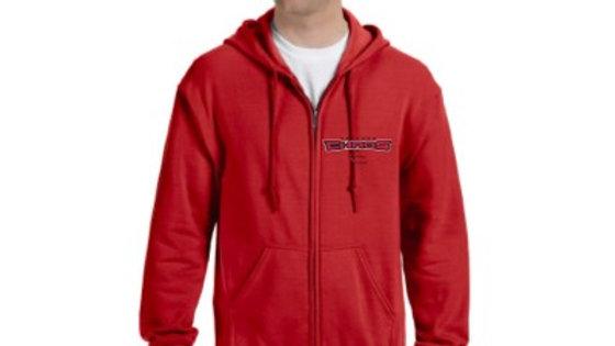 G186 Gildan Adult Heavy Blend™ Adult 8 oz., 50/50 Full-Zip Hood