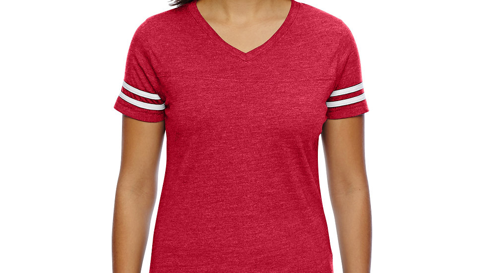 LAT Ladies' Football Fine Jersey T-Shirt 3537