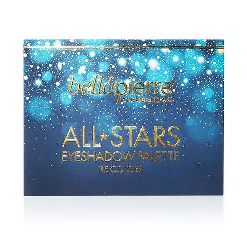 BELLAPIERRE- All Stars 35 Colors Eyeshadowpalette
