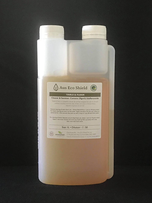 TABLE & FLOOR CLEANER CONCENTRATE 1L (50:1)