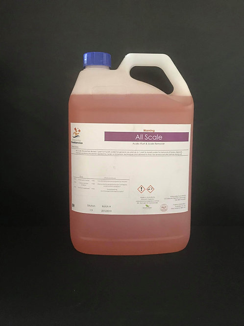 ALL SCALE - ACIDIC SCALE AND RUST CLEANER 1L CONCENTRATE (9:1)