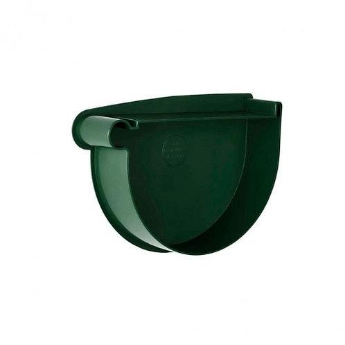 Заглушка воронки ліва Rainway 90 мм зелена