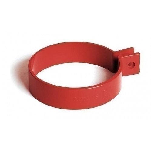 Хомут труби Bryza 100 90,2х25 мм червоний