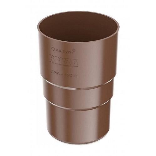 Муфта труби Bryza 150 110,4х155х104,5 мм коричневий