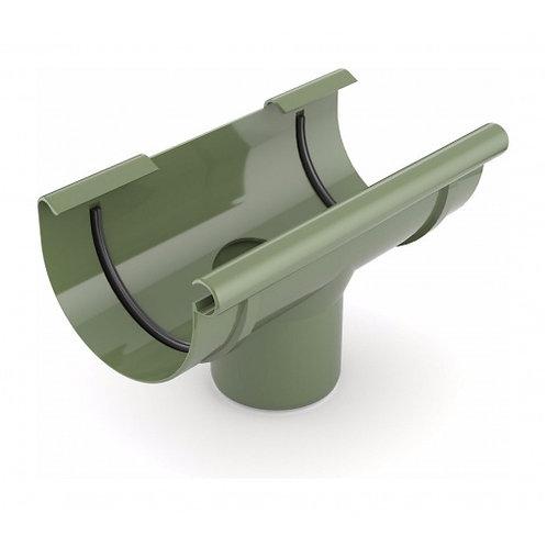 Лійка ринви зливна Bryza 125 280х90 мм зелений