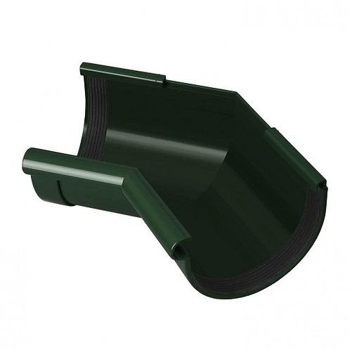 Кут ринви внутрішній Rainway 135 градусів 90 мм зелений