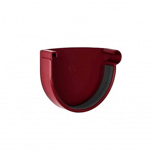 Заглушка ринви права Rainway 130 мм червона
