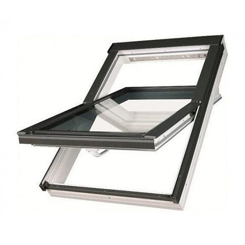 Мансардне вікно FAKRO PTP-V U3 66*98см обертальне вологостійке