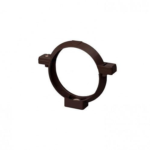 Кронштейн труби Rainway 75 мм коричневий