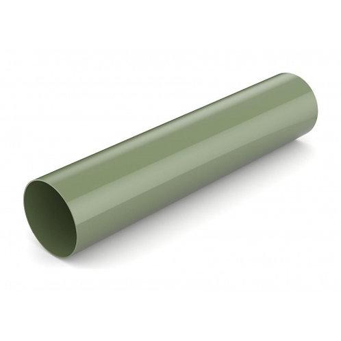 Водостічна труба Bryza 75 63 мм 3 м зелений