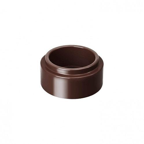 Адаптер труби Rainway 100/75 коричневий