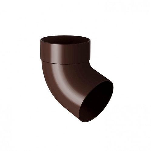 Відведення одномуфтове Rainway 67 градусів 100 мм коричневе