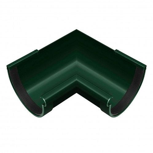 Кут ринви внутрішній Rainway 90 градусів 130 мм зелений