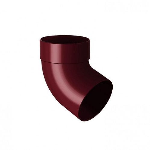 Відведення одномуфтове Rainway 67 градусів 100 мм червоне