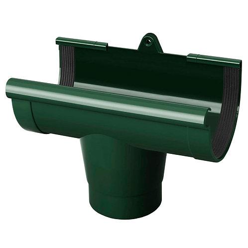 Воронка ринви Rainway 130/100 мм зелена