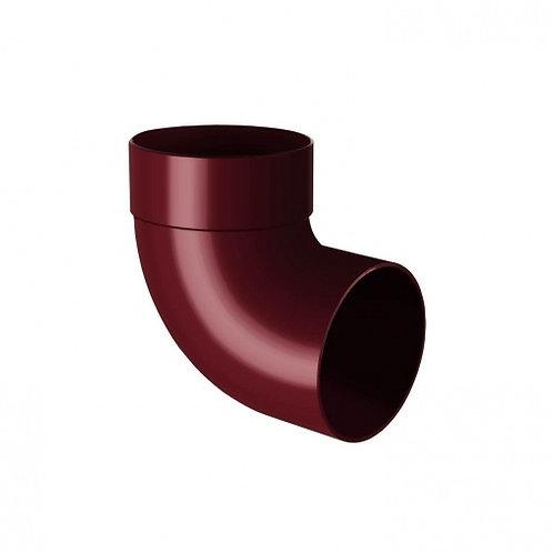 Відведення одномуфтове Rainway 87 градусів 75 мм червоне