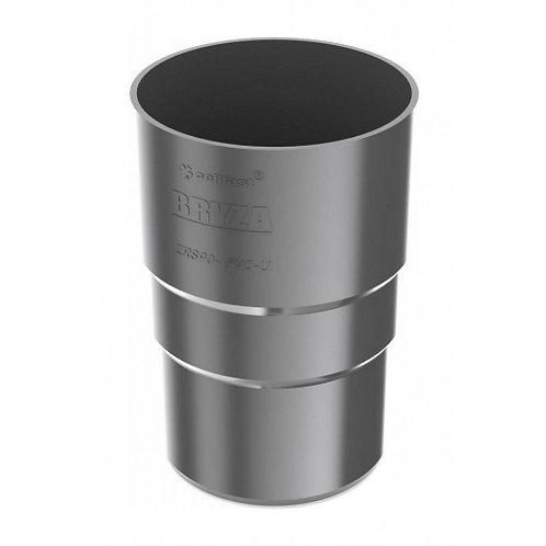 Муфта труби Bryza 150 110,4х155х104,5 мм графіт