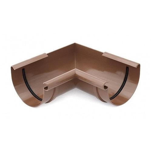 Кут внутрішній /зовнішній 90 градусів Bryza 125 коричневий