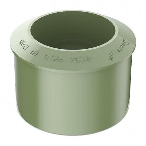 Перехідник труби Bryza 90,2х110 мм зелений
