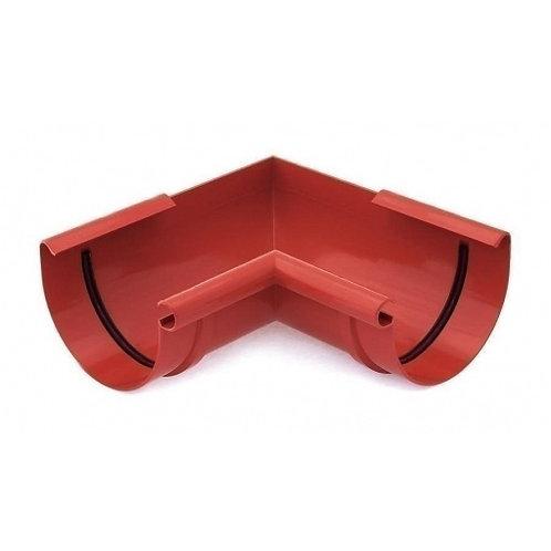 Кут внутрішній /зовнішній 90 градусів Bryza 150 червоний