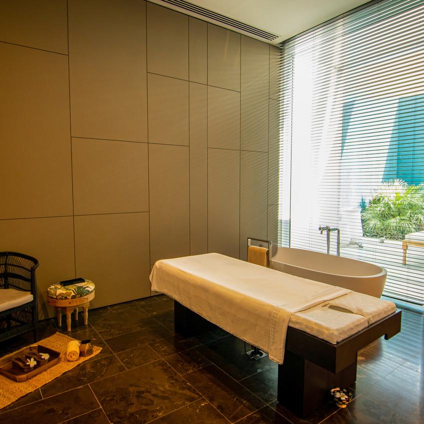 The Oberoi Spa Massage Room