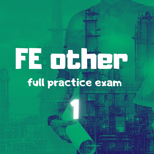 FE other  full Practice Exam module 1