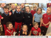 We all wore an item of red to raise money for Red Nose Day.