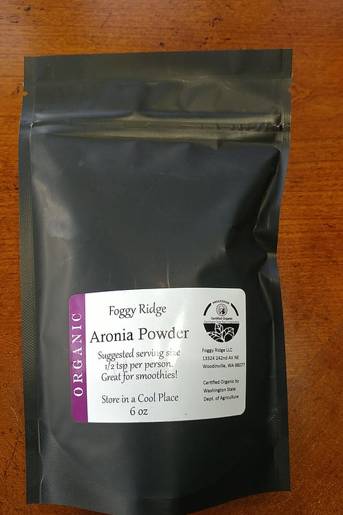 Aronia Powder  -   100% Organic