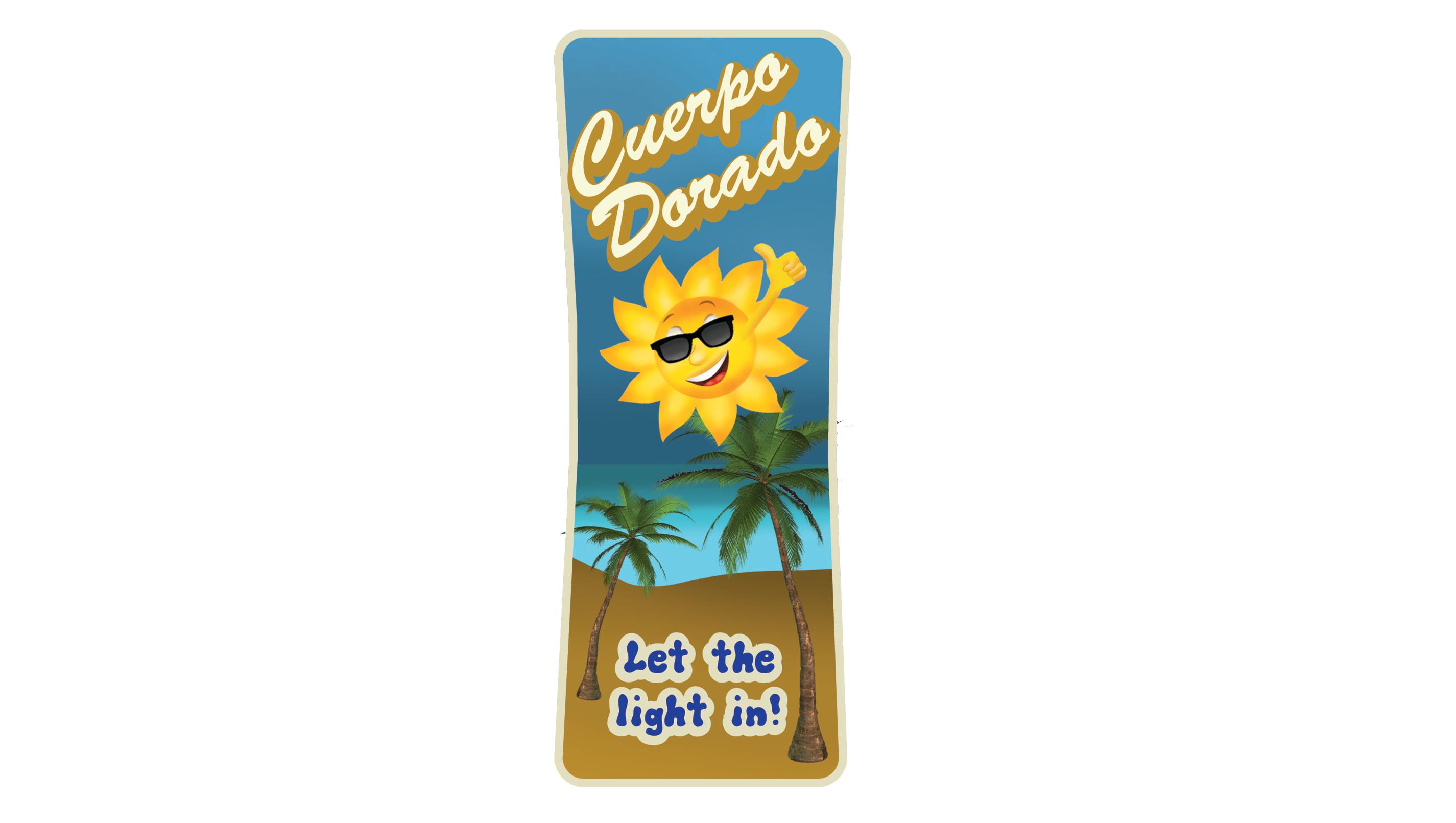 Sun Lotion Label