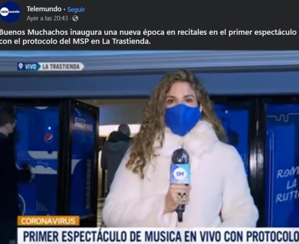 Telemundo - La Trastienda MVD - Primer show