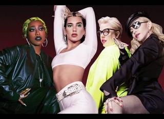 Dua Lipa confirma remix con Madonna y Missy Elliott