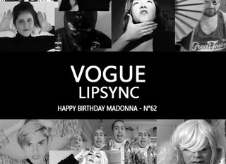 Vogue - Lipsync Chile Happy Birthday Madonna N°62