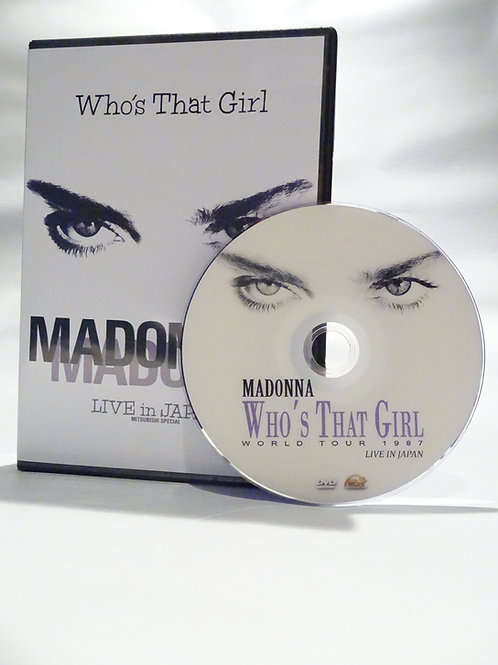 Who's That Girl Tour Live In Tokyo
