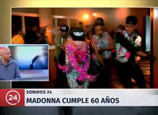 TVN Sonidos 24 : Los 60 años de Madonna
