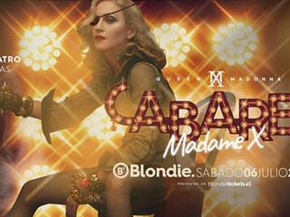 Cabaret Madame X en Blondie