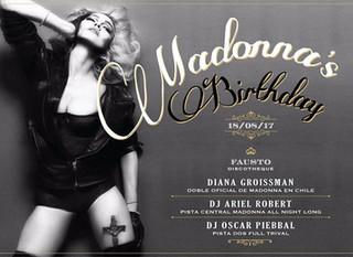 Madonna's Birthday Fausto