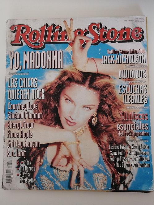 Rolling Stone Magazine Argentina 1998