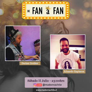 """Capítulo 3 - Live """"De Fan a Fan"""" Junto a Dorian Grobier"""