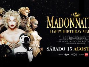 Madonnathon - Happy Birthday Madonna via zoom