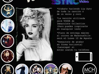 Vogue LipSync Chile (Happy Birthday Madonna)
