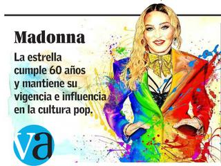 Los 60 Años de Madonna en Vida Actual de El Mercurio