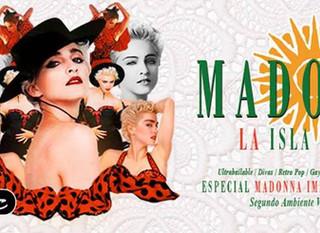"""LA ISLA BONITA - The Madonna Party"""