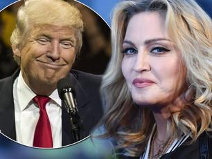 """Donald Trump: """"Madonna es desagradable"""""""