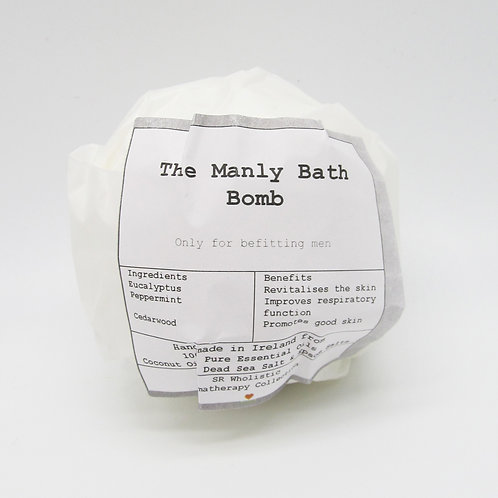 The Manly Aromatherapy Bath Bomb