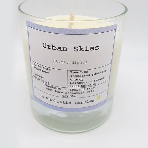 Urban skies Aromatherapy Candle