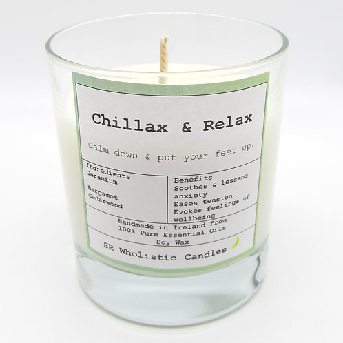 Chillax & Relax Aromatherapy Candle