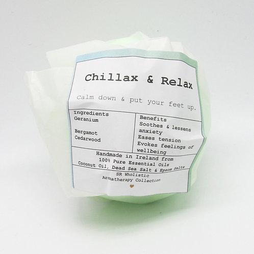 Chillax & Relax Aromatherapy Bath Bomb
