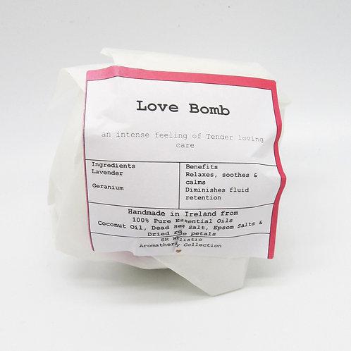 'Love Bomb' Aromatherapy Bath Bomb