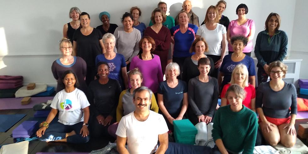 Event postponed Uday Bhosale/Marion Sinclair Iyengar Yoga Weekend Retreat 27th-29th March 2020