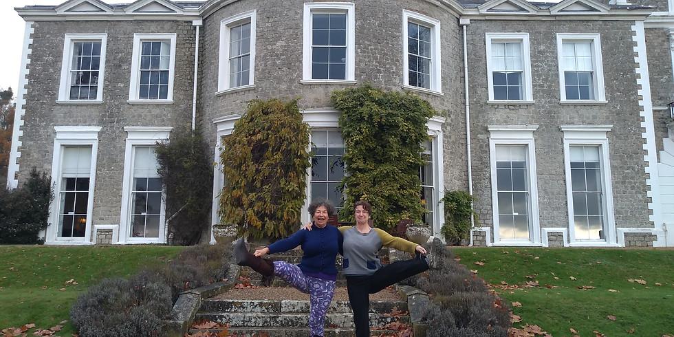 Iyengar Yoga Weekend Retreat with Angie Hulm at Oxonhoath Country Estate 2021